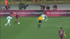 Gökdeniz'den müthiş gol! (Rubin Kazan 2 - 0 Partizan Belgrad)