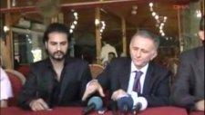 Ali Gaffar Okkan Dizisi Çok Yakında  TRT1 de (Sanatçı Baran Göç ve Dizi koordine ekibi)