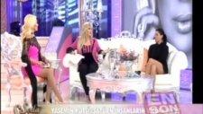 Tuğba Ekinci'nin TV8 Canlı yayınındaki frikiği