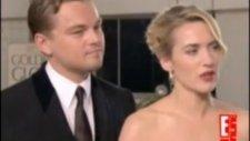 Kate Winslet And Leonardo Dicaprio - İnterview Golden Globes