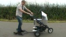 Dünyanın En Hızlı Bebek Arabası