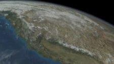 Uzaydan Dört Mevsim Görüntüsü