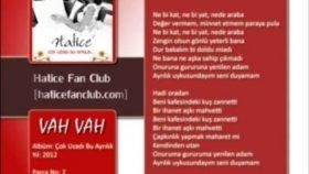 Hatice - Vah Vah