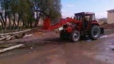 traktör kepçe tomruk yukleyici / Canlı Tarım İş Makinaları