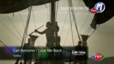 Can Bonomo Love Me Back (Turkey) 2012 Eurovision Song Contest Official Preview Video Youtube