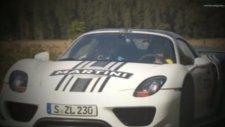 2013 Porsche 918 Spyder Driving Scenes Country Road