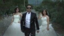 Gelin Ve Damatlardan Gangnam Style