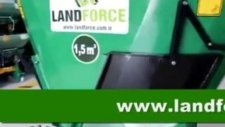 1,5 M 3 Çeki Tip Yem Karma Hazirlama Makinesi Feed Mixer Landforce