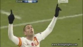Cluj 1-3 Galatasaray Özet