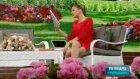 Simge Fıstıkoğlu Kırmızı Mini Elbise Açılımı