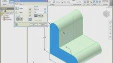 Autodek İnventor Parametrik Parca Tasarımı