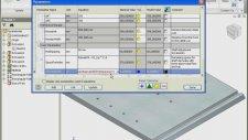 Autodesk İnventor Parametreler