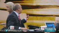 Habertürk Tv'yi Ayıplayıp Yayını Terketti