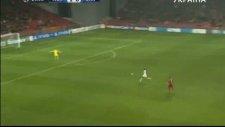 Lucescu'nun takımı Shaktar'dan utanç golü
