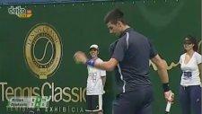 Novak Djokovic'den Serena Williams Takliti