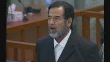 Saddam İdam Kararını Böyle Karşıladı!.flv