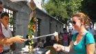 Turistlerin Maraş Dondurmacısı ile İmtihanı
