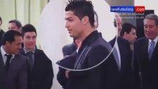 Ronaldo'nun sakızla imtihanı!