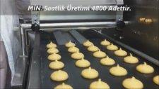 Kurabiye Kuru Pasta Makinası - Acı Badem Dökerken