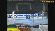 Roger Federer Mondragon'a karşı