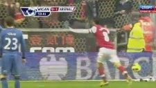 Wigan 0-1 Arsenal Gol Mikel Arteta
