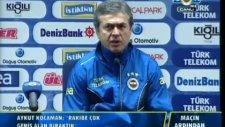 Fenerbahçe Teknik Direktörü Aykut Kocaman istifa etti ! İşte Basın Açıklaması...