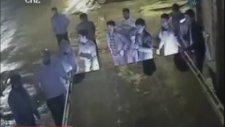 Çorluda Kameralara Yansıyan İlginç Kaza