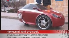 Hidrojenli mini otomobil