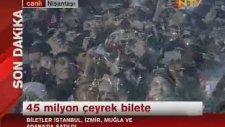 İstanbul 2013'e Girme Anı - Geri Sayım