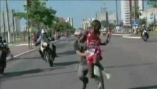 Maratonda İnanılmaz Olay