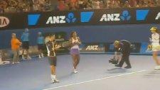 Djokovic ve Serena Williams'dan Gangnam Style dansı