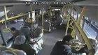 Halk Otobüsündeki Dehşet Anları Kamerada!