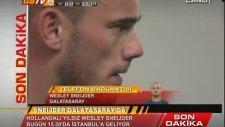 Wesley Sneijder'in aciklamalari