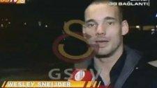 Sneijder : '' En büyük Galatasaray ''