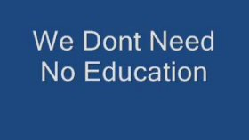 Pink Floyd - We Dont Need No Education