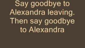 Leonard Cohen - Alexandra Leaving