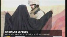 Abd'de Kadın Askerlerler Silah Kuşandı!