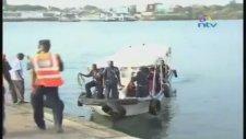 Kamyon feribottan düştü 11 ölü! İşte o anlar...