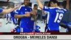 Didier Drogba Raul Meireles dansı