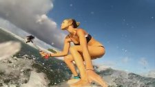 Seksi Güzellerin Sörf Macerası!