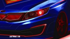 Superman Themed Kia Optima Hybrid teaser