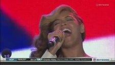 Beyonce'den ABD Milli Marşı