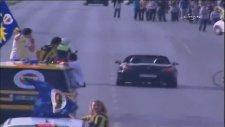 S2000 polis önünde drift yapıyor