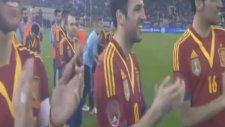 Carles Puyol Katar Futbol Federasyonun'dan Ödülünü Aldı!