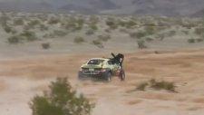 Arazi Yarışında Taklaya Gelip Yarışa Devam Etmek