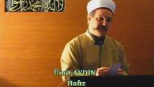 Cuma Vaazı Yeraltı Camii İmam Hatibi / Hafız Ümit Aydın