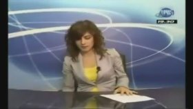 Trabzonlu spiker canlı yayında olduğunu unuttunca