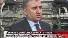 Amasya'da Emniyet Kemeri Kullanımı Yarı Yarıya Yükseldi
