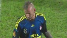 Bate Borisov 0-0 Fenerbahçe Meirelesin Kırmızı Kart Yediği Pozisyon 14 Şubat 2013