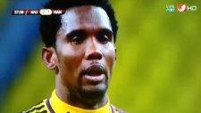 Samuel Eto'o penaltıyı kaçırdı rezil oldu!